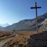 naar Refuge de l'Arpont 2309m.