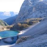 naar Rifucio Carducci 2297m.